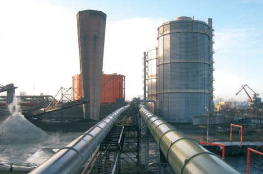 Gent recovers flue gases